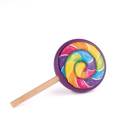 Erzi 14404 - Juguete de piruletas de madera para niños, juego de rol