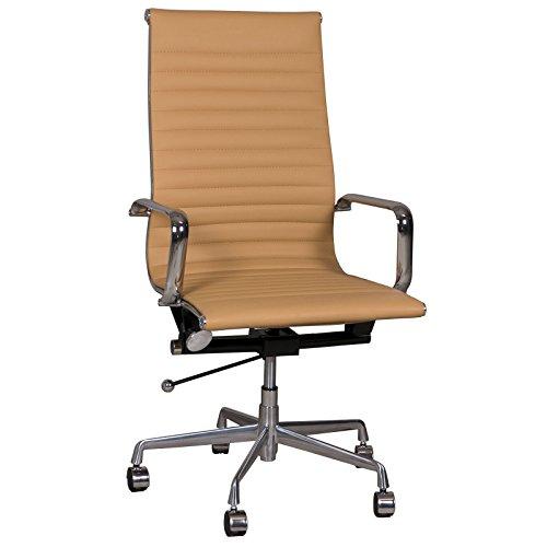 Replica Eames Group #CF-035 - Silla de Oficina estándar, Color marrón