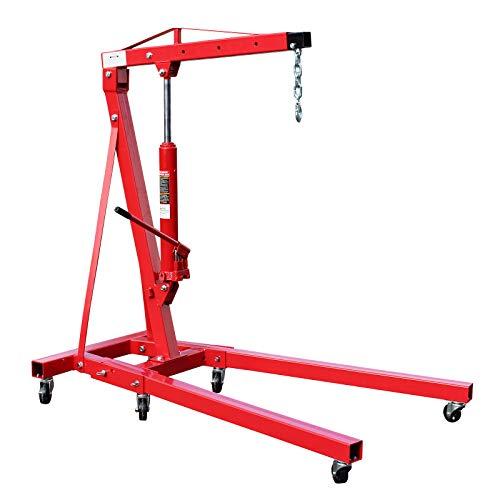 Grúa de taller plegable 1000kg Grúa elevación de cargas