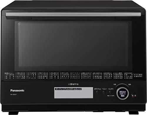 パナソニック ビストロ スチームオーブンレンジ 30L 2段 スイングサーチ赤外線センサー ブラック NE-BS807-K