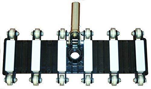 well2wellness® Aspirateur de sol de piscine '12-Rad Flex' avec largeur d'aspiration de 48 cm (021417)