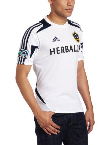 adidas MLS Los Angeles Galaxy Pregame Training Jersey, Herren, Los Angeles Galaxy, XX-Large
