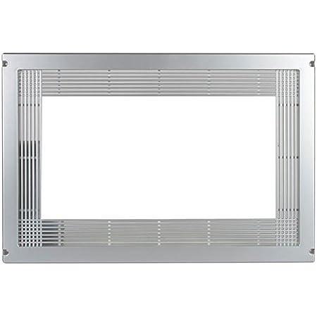 Micel 94503 Cadre pour Micro-Ondes 60 x 40 cm, Argent métallique