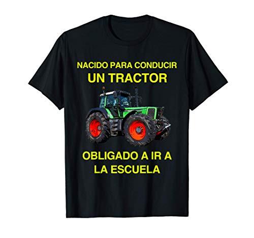 Tractor Granjero Agricultor Agricultura Hijo Niños Regalo Camiseta