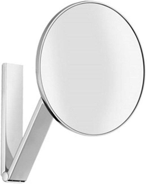 Keuco 17612010000 Kosmetikspiegel iLook_Move 17612, unbeleuchtet, Wandmodell an Schwenkarm