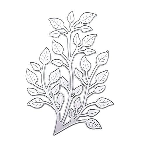 ECMQS Blumenvogelpflanze Stanzschablone, Scrapbooking Prägeschablonen Stanzformen Schablonen Für Scrapbooking, Fotopapier, Karten, Handwerk Prägen DIY Herstellung