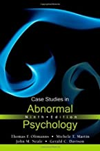 Case Studies in Abnormal Psychology by Thomas F. Oltmanns (2012-01-31)