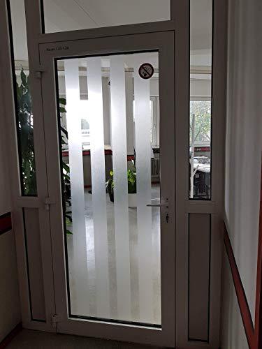 Selbstklebende Sichtschutzfolie für Glas als Zuschnitt oder Wunschmaß