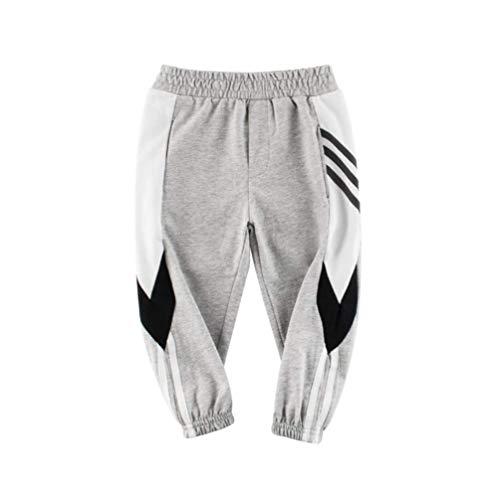 Kinder sportbroeken jongens school joggingbroeken joggers harembroek babyjongens katoenen casual broek voor 2-10 jaar