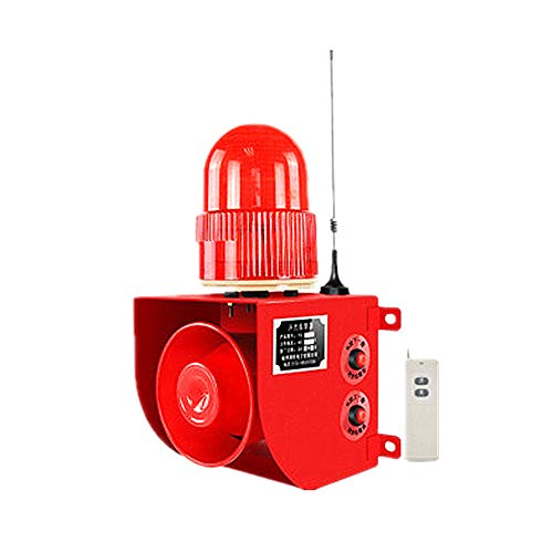 Check Out This Wireless Warning Light with Remote Controller & USB Industrial Sound Light Alarm w/Re...