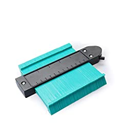 📏【 MEASURE IRREGULAR SHAPE 】Contour Gauge professional measuring tools makes copying and cutting easier. It can perfect shaping the irregular shape with smooth needles.Apply to curves, corners, contours to laminate, carpet, wood board, tiles in woodw...