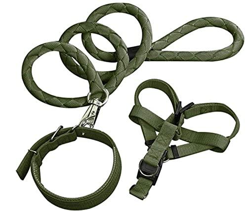 AORAN Aran3PCS Cuerda de Perro Tracción Línea de tracción Cuello de tracción Cuerda Cuerda Perrito Pista de Paseo al Aire Libre