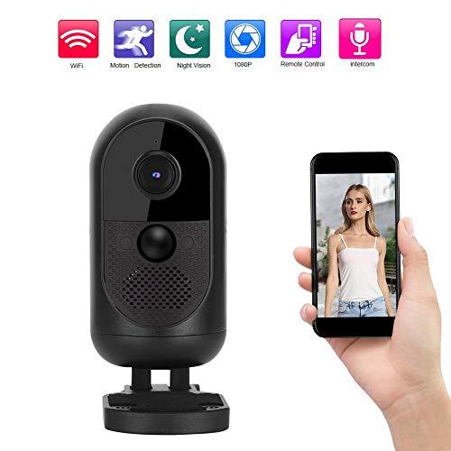 1080P HD Wifi-camera met ingebouwde microfoon en luidspreker, IR-nachtzichtcamera met bewegingsdetectie, IP-camera met 8 infraroodlampen, realtime bewaking, ondersteuning voor mobiele telefoonverbindi