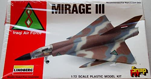 Mirage III Iraqi Air Force 1 72 Scale Plastic Model Kit