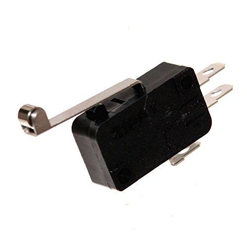 1 Zippy Microswitch Einbau-Taster Mikroschalter Öffner Schließer Wechsler Snap-Action Joystick Switch Neu Joy-Button (Schließer/Öffner mit Rolle)