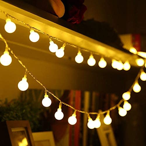 Practically Holiday Starry Ball Garland Christmas 1.5M 3M Large special Cash special price price 6M 10M