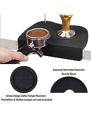Silicone Coffee Tamper Mat - Medium (Black)
