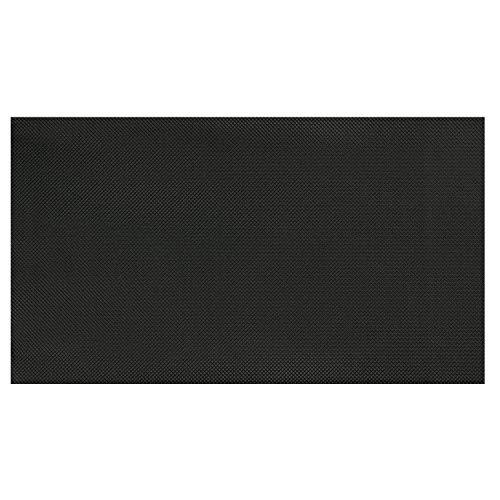 Olivo.Shop - Multi, Colore Nero, Rotolo passatoia da Cucina sotto lavabo, Antiscivolo e antimacchia in PVC. Facile da Pulire. (50x100 cm)