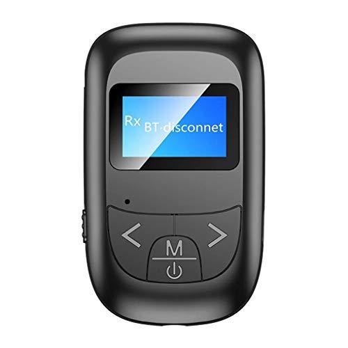 rongweiwang Bluetooth 5.0 o Altavoz Adaptador de Auriculares de TV o Adaptador Bluetooth o inalámbrica o Receptor de señal del transmisor