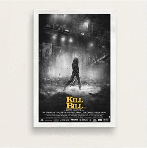 Quentin Tarantino Film Kill Bill Reservoir Hunde Inglourious Basterds Kunst Malerei Seide Leinwand Poster Wand Wohnkultur 50 * 70Cm No Frame