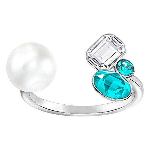 Swarovski extra Tamaño Mediano abierto anillo–tamaño 6–5221601