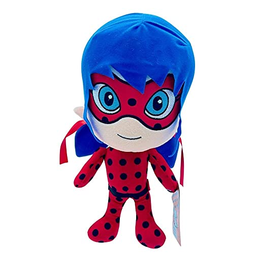 Desconocido Zag Prodigiosa Ladybug, 36cm (14,4'), Juguete Superheroína Miraculous, Calidad Súper Soft