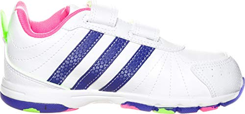 adidas Snice 3 CF I Kinderschuhe running white-power purple-neon pink - 19