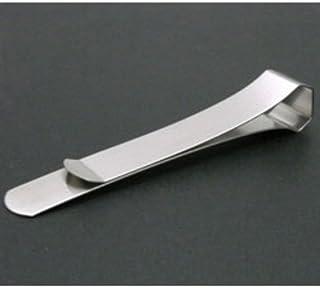 ステンレスクラスプ クリップ シンプル 書類 整理 オフィス 備品 Mサイズ ステンレス製 DAS-1501 スリップオン