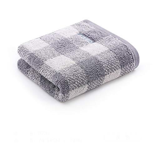 CMZ Toallas de Lavado General absorbentes Suaves de algodón Puro Aumenta el Espesor de la Pareja de Adultos Toalla de algodón Simple (34x78 cm)
