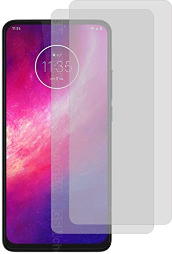 4ProTec I 2X Schutzfolie KLAR passexakt für Motorola One Hyper Bildschirmschutzfolie Displayschutzfolie Schutzhülle Bildschirmschutz Bildschirmfolie Folie