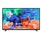 Philips 50PUS6203/12 126 cm (50 Zoll) LED Fernseher (4K Ultra HD, Smart TV, Triple Tuner)