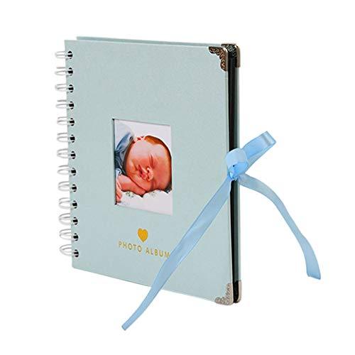 PPCERY 40 páginas Álbumes de Fotos Photoalbumimagen álbum Scrapbooking PhotoAlbum Artesanía Papel PhotoAlbums Albumes de fotografías Creativas (Color : Blue Photo Album)