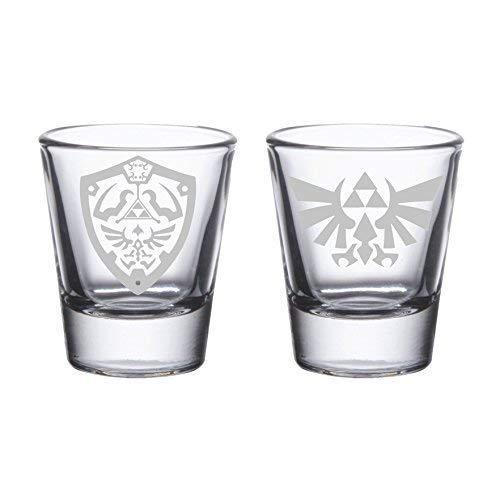 Legend of Zelda Shot Glass Set of 2