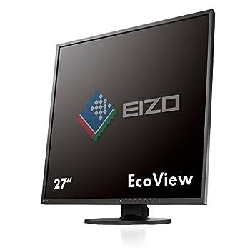 EIZO FlexScan EV2730QFX 26.5  Square IPS Monitor 1920x1920  EV2730QFX-BK