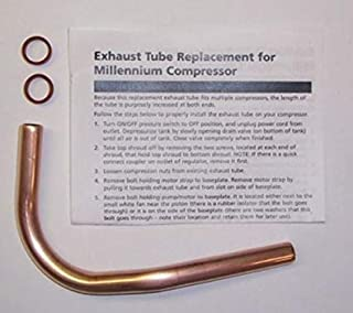 New Air Tool Parts WL011299SJ Campbell Hausfeld Air Compressor Tube Kit Husky