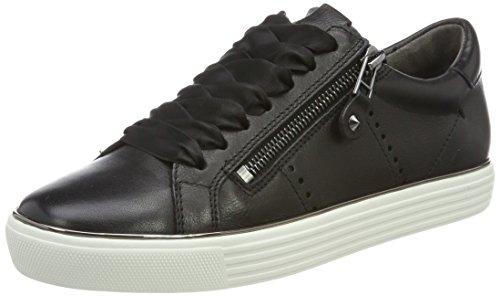 Kennel und Schmenger Kennel und Schmenger Damen Town Low-top Sneaker, Schwarz (Schwarz Sohle Weiß-Gun), 38.5 EU (5.5 UK)