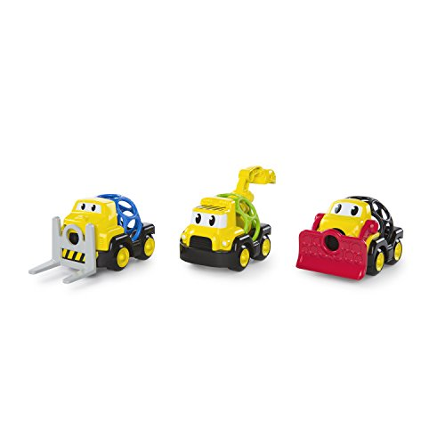 Bright Starts, Oball Go Grippers, Construction Equipe 3 Vehicules