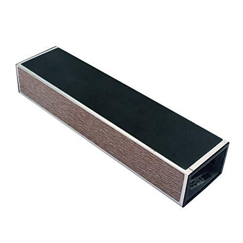 SUPVOX Fretwire Sanding Pulido Beam y soporte antideslizante de silicona para guitarra