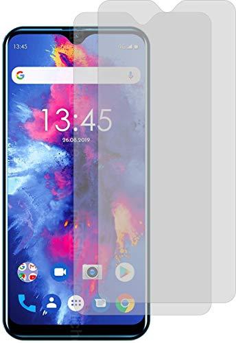 4ProTec I 2X Schutzfolie KLAR passgenau für Kiano Elegance 6.1 Pro Bildschirmschutzfolie Displayschutzfolie Schutzhülle Bildschirmschutz Bildschirmfolie Folie