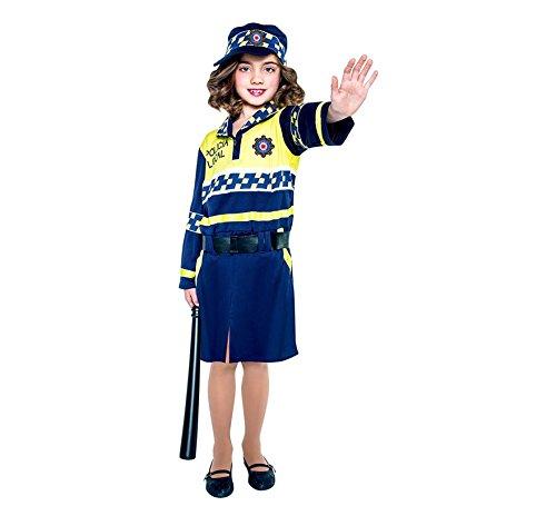 Disfraz de Polica local para nia
