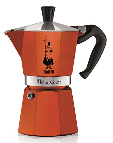 Why Choose Bialetti 06906 6-Cup Espresso Coffee Maker, Orange