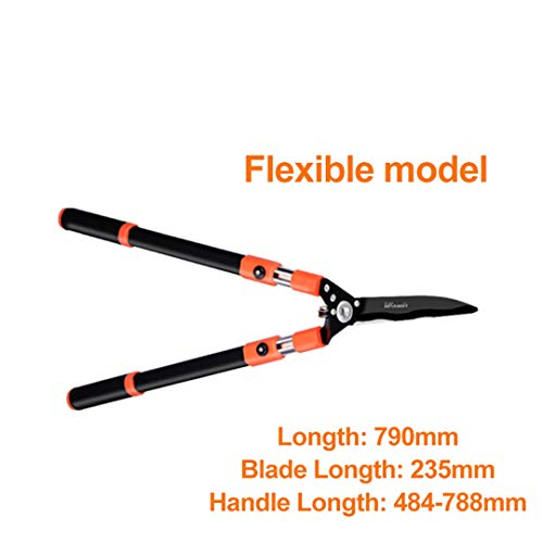 Fantastic Deal! BSFSDWX Hedge Shear Pruning Trim Branch Shear Sharp Fast Trimming Shear Cut Fence Sh...