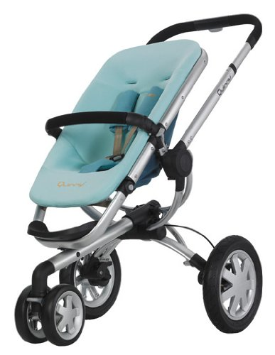 Quinny 60303000 - Buzz 3 groovy green, inklusiv Sonnen- und Regenverdeck, Buzz-Box und Adapter für die Maxi-Cosi Babyschale