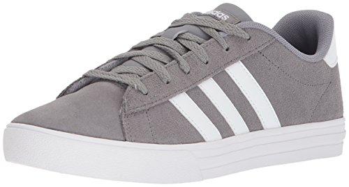 adidas Kids' Daily 2.0, Grey Three/White/White, 6 M US Little Kid