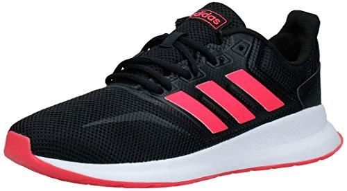 adidas Runfalcon, Zapatillas de Trail Running para Mujer, Negro (Core Black/Shock Red/FTWR White), 38 2/3 EU
