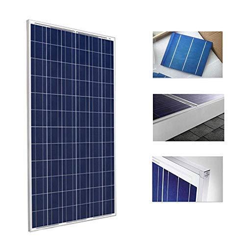 Placa Solar 330w Panel Solar Fotovoltaico Polycrystalline para 24v 48v Alta eficiencia Tambien Vale para 12v