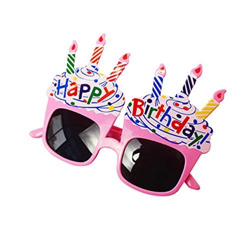 Gafas de Cumpleaños Feliz Cumpleaños Gafas Novedad Gafas de Sol Happy Birthday Party Favors Costume