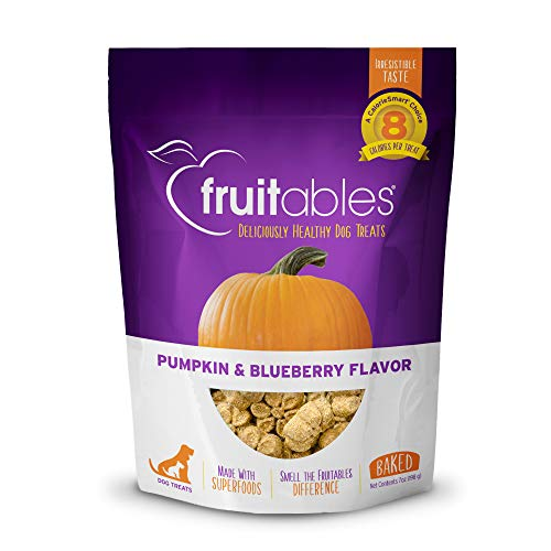 Fruitables Crunchy Baked Dog Treats | Pumpkin &...