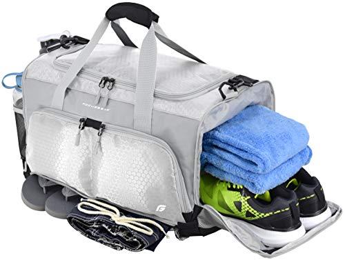"FocusGear Ultimate Gym Bag: The Crowdsource Designed 20"" Duffel"