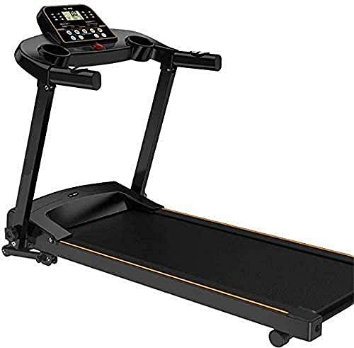 Cinta de correr plegable Mini ejercicio interior multifunción Mute Fitness equipo cinturón ancho correr entrenamiento